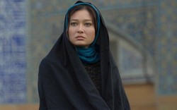 "Turkish actress Nurgul Yesilçay acts in a scene from ""Beautiful Jinn"" by Iranian director Bairam Fazli."