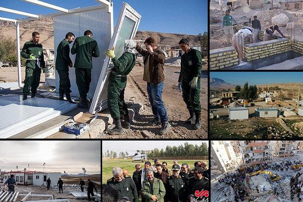 بازسازی واحدهای زلزله زده کرمانشاه