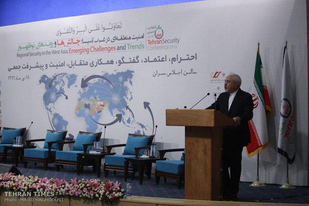 International security conference underway in Tehran