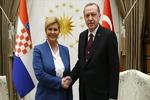 دیدار رؤسای جمهوری ترکیه و کرواسی
