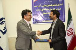 دانشگاه دامغان و برق منطقه ای سمنان تفاهم نامه همکاری امضا کردند