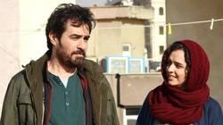 "Shahab Hosseini (L) and Taraneh Alidoosti act in a scene from ""The Salesman""."