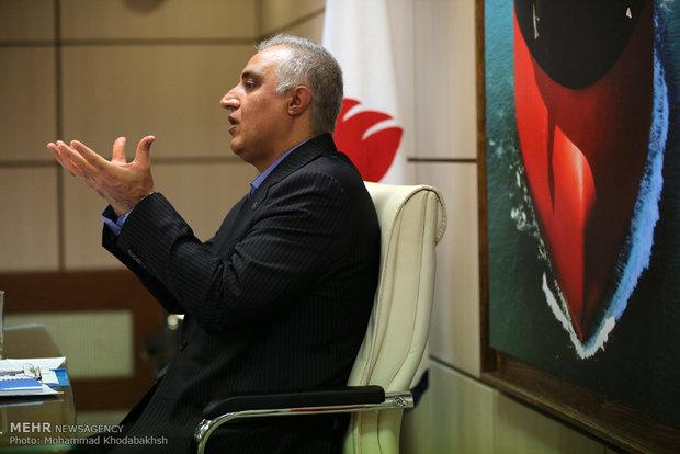 المؤتمر الصحفي للمتحدث بإسم الشركة الوطنية لناقلات النفط في ايران