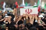 پیکر شهید «محسن برزگرزاده» در اسلامشهر تشییع شد