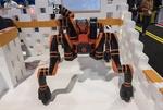 رباتی ۴ پا که از پستی و بلندی بالا می رود