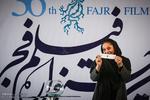 آیین قرعه کشی برنامه نمایش فیلم های سی و ششمین جشنواره فیلم فجر در سینمای رسانه ها