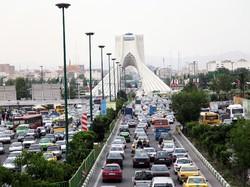 Tehran's traffic scheme