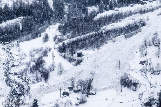 تخلیه روستا از ترس وقوع بهمن در سوئیس