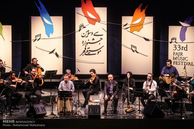 Fajr Music Fest. of 33rd edition opens in Tehran on Wed.