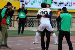 دیدار تیم های فوتبال سپاهان و ذوب آهن