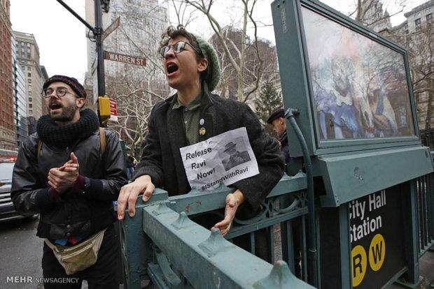 """ABD'de Trump'ın """"göç politikaları""""na karşı şiddetli protesto"""