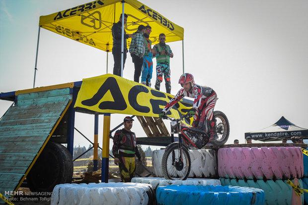 اولین مرحله مسابقات موتور تریال قهرمانی تهران