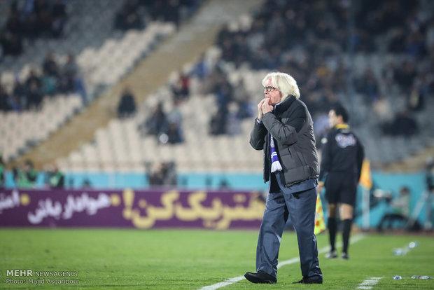 تصاویر/ دیدار تیم های فوتبال استقلال و سایپا