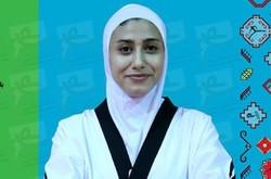 ناهید کیانی در تکواندو به مدال برنز رسید/ کسب مدال بیست و چهارم
