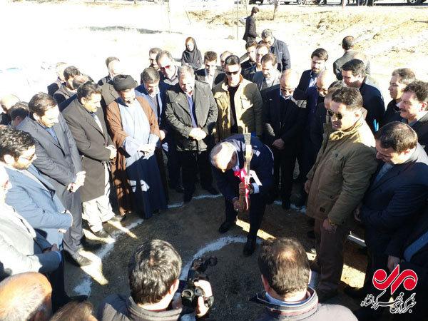 کلنگ زنی کارخانه قطعات خودرو سنقر