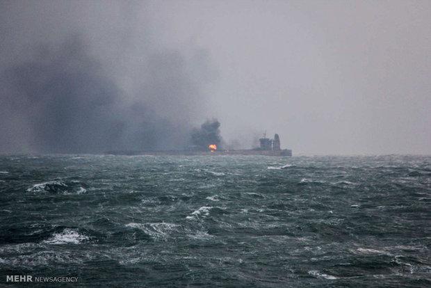 Çin'den kaza geçiren İranlı petrol tankeriyle ilgili flaş açıklama