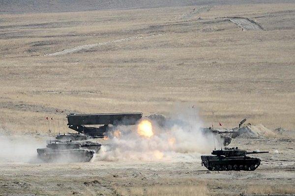 حملات موشکی ارتش ترکیه به کردها در شمال حلب