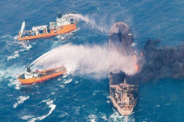 New Explosion on Burning Iran Oil Tanker