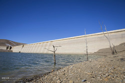 Drop in Water level in Ekbatan Dam, Hamadan