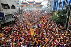 """فلپائن میں """" بلک نازارنہ """" مذہبی تقریب"""