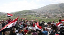Farmers reject Israeli attempts to uproot them from their lands in Golan