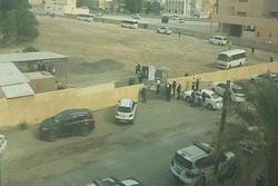 Al Khalifah forces invade al-Mahooz cemetery