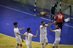 دیدار تیم ملی فوتسال ایران و بلاروس