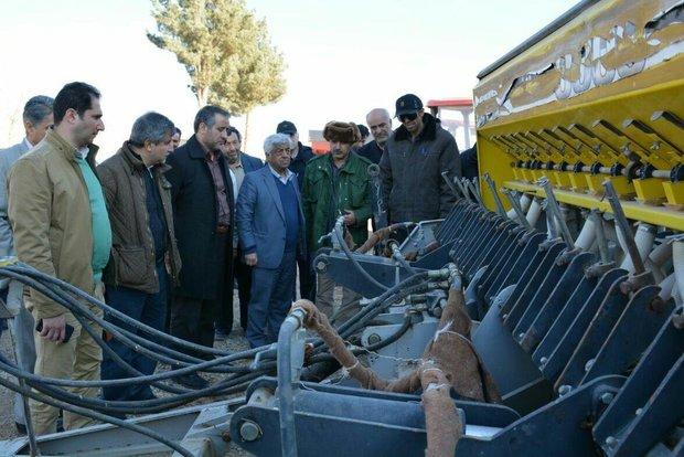 بازدید معاون وزیر جهاد کشاورزی از شاهرود - کراپشده