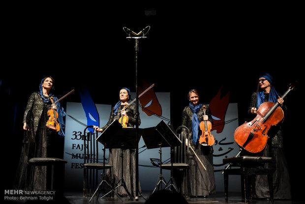 İran'daki görkemli müzik şöleni beşinci basamakta