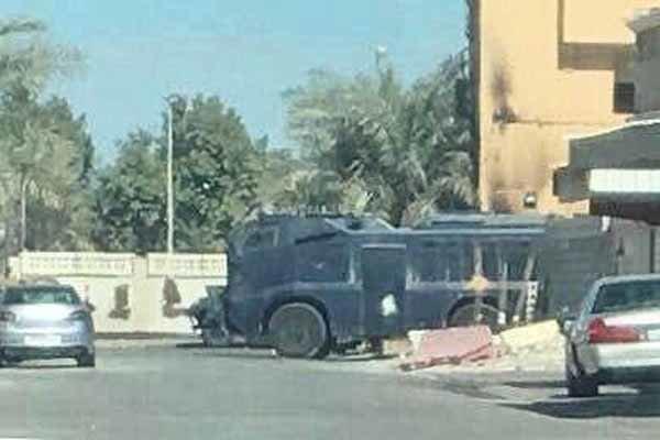 تداوم محاصره منزل آیت الله عیسی قاسم درمنطقه الدراز بحرین - خبرگزاری مهر