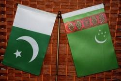 پرچم ترکمنستان و پاکستان