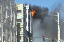 آتش سوزی در زاهدان