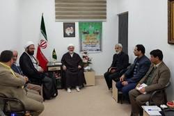 نشست خبری امام جمعه شاهرود - کراپشده