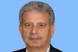 Pakistani min. arrives in Tehran for talks on defense coop.