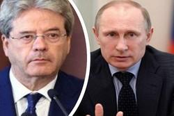 نخست وزیر ایتالیا با پوتین تلفنی گفتگو کرد