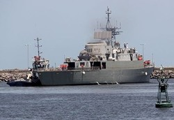 Iranian destroyer severely damaged, two crew missing