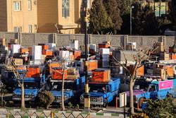 ارسال کاروان 110 سری جهیزیه به نوعروسان استان تهران