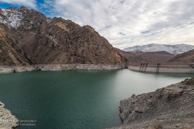 Lowering water levels concerning Tehran