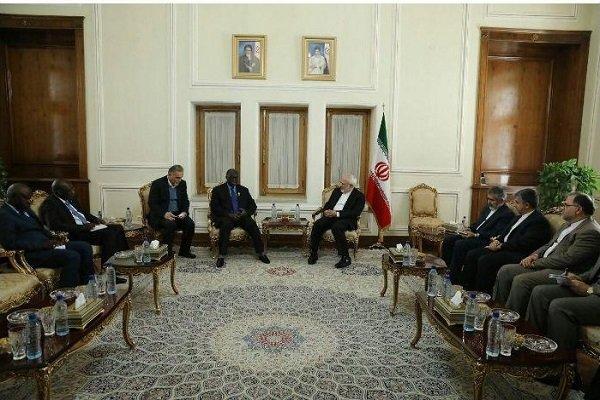 Zarif meets with Senegalese parl. speaker
