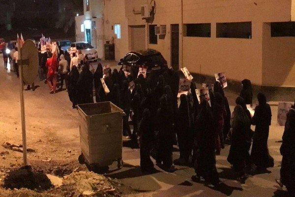 تظاهرات گسترده مردم بحرین علیه رژیم آل خلیفه
