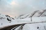 بارش برف در مناطق کوهستانی گیلان ادامه دارد