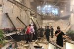 فرو ریختن ساختمان بورس اندونزی