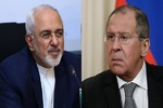 Zarif, Lavrov discuss Syria crisis