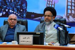 سید محمود علوی وزیر اطلاعات در زنجان - کراپشده