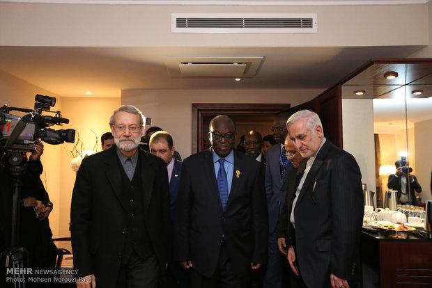 Laricani'nin İİT Parlamentolar Birliği Konferansı'ndaki görüşmeleri