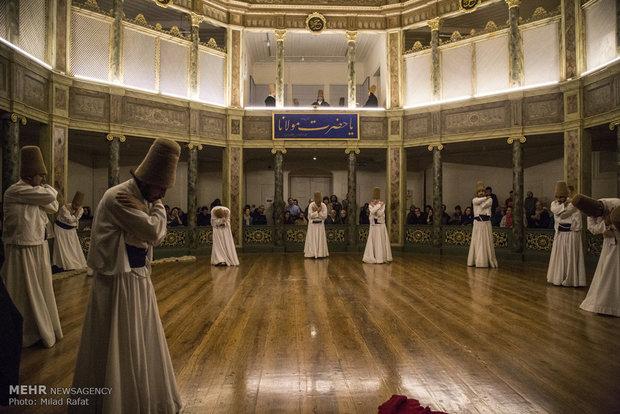 سماع درویشان در استانبول ترکیه