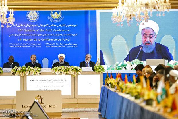 Ruhani'den İİT Parlamentolar Birliği Konferansı'nda önemli açıklamalar