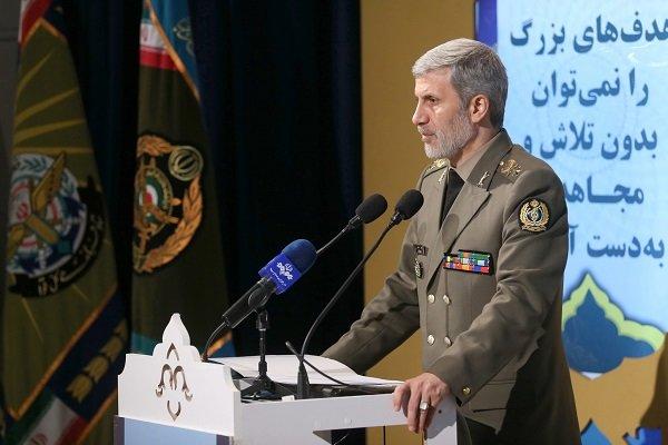 ایران کی بین الاقوامی قوانین کے دائرے میں علاقہ میں امن و ثبات قائم رکھنے کی کوشش جاری