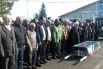 پیکر مادر شهیدان «ناصحی»در رودسرتشییع و به خاک سپرده  شد