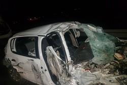 واژگونی خودرو سواری تندر۹۰ در سنندج دو نفر مصدوم برجای گذاشت